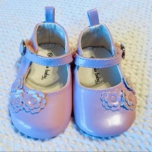 Baby Girls' Pink Patent Leather Dress Shoes Size 2